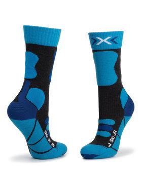 X-Socks X-Socks Vysoké dětské ponožky Ski Junior 4.0 XSSS00W19J Modrá