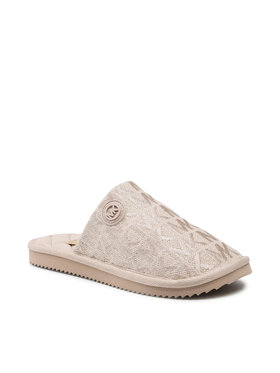 MICHAEL Michael Kors MICHAEL Michael Kors Kapcie Janis Slipper 40T1JAFP2D Beżowy