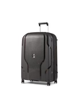 Delsey Delsey Nagy kemény borítású bőrönd Clavel 00384582100 Fekete