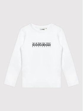 Napapijri Napapijri Blúz K S-box NP0A4GEJ M Fehér Regular Fit
