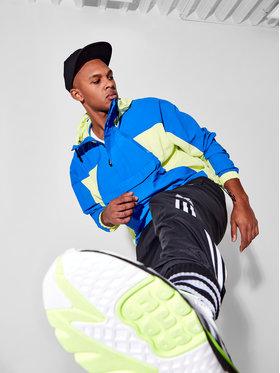 adidas adidas Teplákové nohavice adicolor 3D Trefoil 3-Stripes GN3543 Čierna Regular Fit