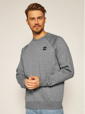Under Armour Under Armour Bluza Ua Rival Fleece Crew 1357096 Szary Regular Fit