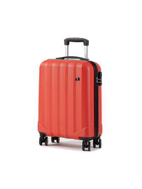 Dielle Dielle Kis kemény borítású bőrönd 90/55 Piros