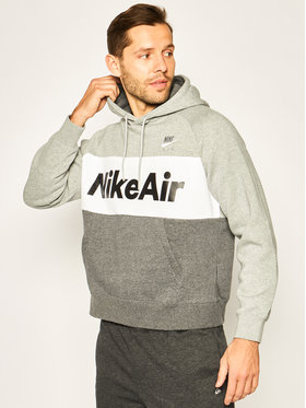 Nike Nike Džemperis Nsw Air Hoodie Po CJ4824 Pilka Standard Fit