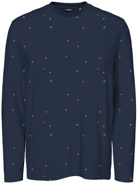 ONLY & SONS ONLY & SONS Bluză Kris Life 22020040 Bleumarin Regular Fit