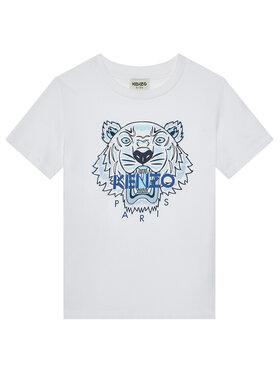 Kenzo Kids Kenzo Kids T-Shirt K25115 S Biały Regular Fit