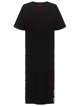 Hugo Hugo Φόρεμα καλοκαιρινό Nessuna 50438986 Μαύρο Regular Fit
