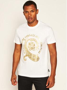 Versace Jeans Couture Versace Jeans Couture T-Shirt B3GZA7EA Weiß Slim Fit