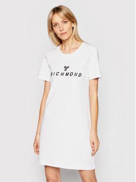 John Richmond John Richmond Sukienka codzienna Buscaion UWP21121VE Biały Regular Fit