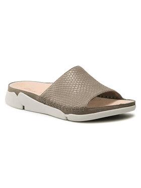Clarks Clarks Mules / sandales de bain Tri Slide 261488194 Gris