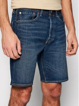 Levi's® Levi's® Džínsové šortky 501® Original 36512-0139 Tmavomodrá Regular Fit