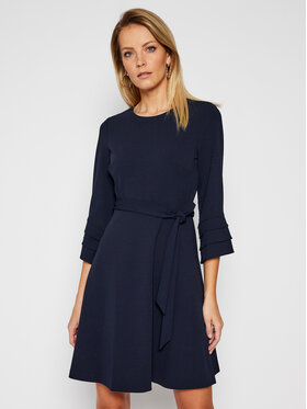 DKNY DKNY Kokteilinė suknelė DD0K1042 Tamsiai mėlyna Regular Fit