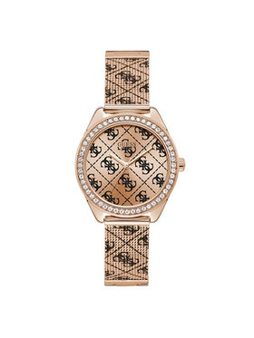 Guess Guess Zegarek Claudia Mesh W1279L3 Różowy