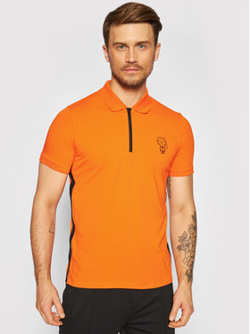 KARL LAGERFELD KARL LAGERFELD Polokošile 745020 511221 Oranžová Regular Fit