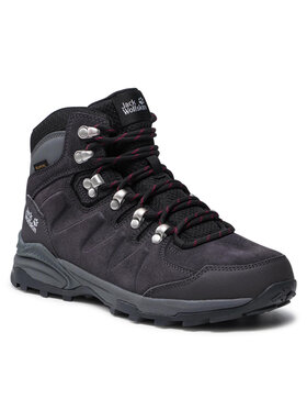 Jack Wolfskin Jack Wolfskin Трекінгові черевики Refugio Texapore Mid W 4050871 Сірий