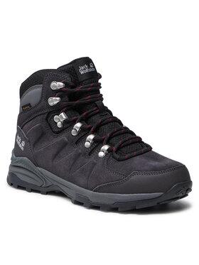 Jack Wolfskin Jack Wolfskin Turistiniai batai Refugio Texapore Mid W 4050871 Pilka