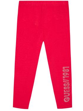 Guess Guess Legginsy J1YB01 J1311 Różowy Slim Fit