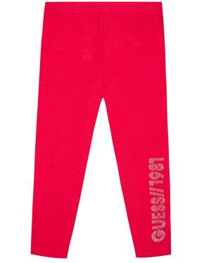 Guess Guess Legíny J1YB01 J1311 Růžová Slim Fit