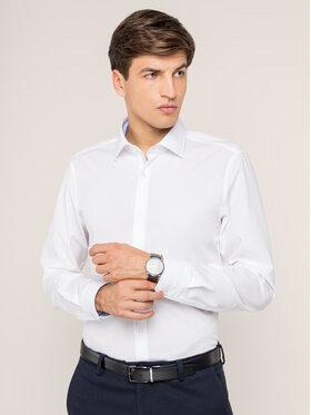 Strellson Strellson Hemd 30011610 Weiß Slim Fit
