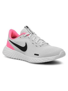 NIKE NIKE Обувки Revolution 5 (GS) BQ5671 010 Сив