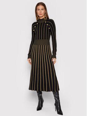 Liu Jo Liu Jo Džemper haljina WF1437 MA18F Crna Regular Fit