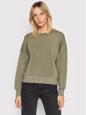 Guess Guess Sweatshirt Corina W1BQ04 K7UW2 Grün Regular Fit