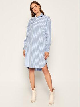 Polo Ralph Lauren Polo Ralph Lauren Hemdkleid 211797756001 Blau Regular Fit