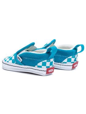 Vans Vans Tenisky Slip-On V Crib VN0A2XSLW3V1 Modrá