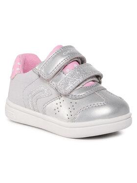 Geox Geox Sneakers J Djrock G. A B021WA-0AJ10 C0162 M Grau