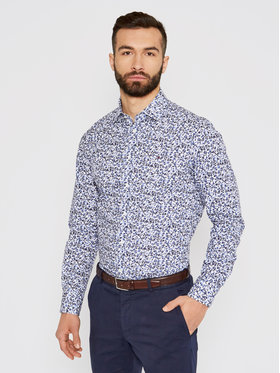 Tommy Hilfiger Tailored Tommy Hilfiger Tailored Marškiniai Floral Print MW0MW16465 Spalvota Regular Fit