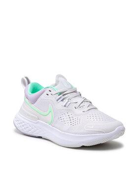 Nike Nike Boty React Miler 2 CW7136 002 Šedá