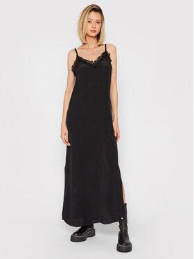 Pepe Jeans Pepe Jeans Večerní šaty Amada PL952896 Černá Regular Fit