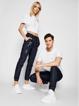 Diamante Wear Diamante Wear Joggers kalhoty UNISEX 5501 Tmavomodrá Regular Fit