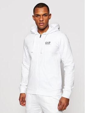 EA7 Emporio Armani EA7 Emporio Armani Sweatshirt 8NPM03 PJ05Z 1100 Weiß Regular Fit