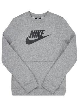 NIKE NIKE Bluză Club Fleece BV0785 Gri Standard Fit