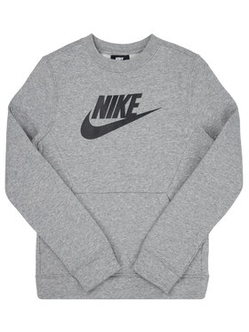 NIKE NIKE Sweatshirt Club Fleece BV0785 Grau Standard Fit