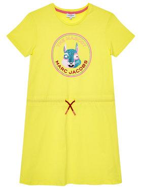 Little Marc Jacobs Little Marc Jacobs Rochie de zi W12359 M Galben Refular Fit