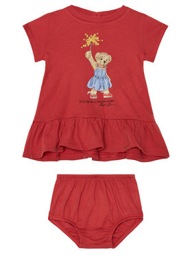 Polo Ralph Lauren Polo Ralph Lauren Ежедневна рокля Summer II 310790447001 Червен Regular Fit
