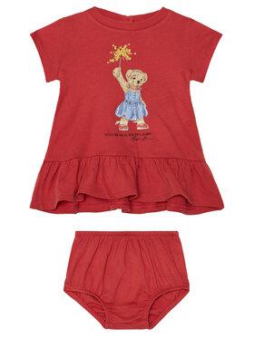 Polo Ralph Lauren Polo Ralph Lauren Každodenní šaty Summer II 310790447001 Červená Regular Fit