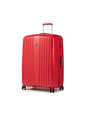 Dielle Dielle Nagy kemény borítású bőrönd 120/70 Piros
