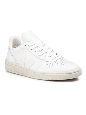 Veja Veja Sneakers V-10 Leather VX021270A Blanc