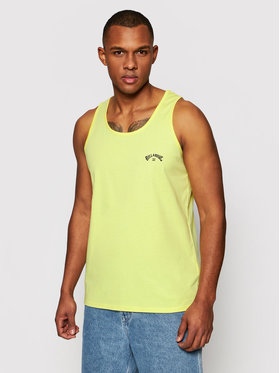 Billabong Billabong Tank top Arch Wave W1SG06 BIP1 Žlutá Regular Fit