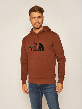 The North Face The North Face Μπλούζα Drew Peak NF00AHJYWEW1 Καφέ Regular Fit