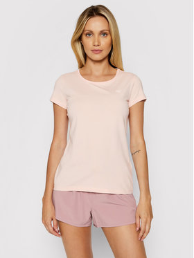 4F 4F T-Shirt NOSH4-TSD001 Różowy Regular Fit