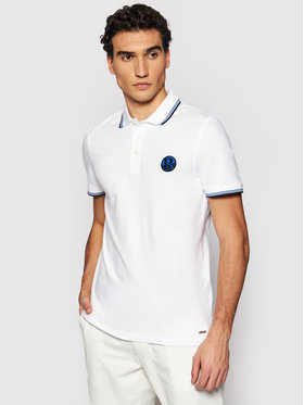 Roy Robson Roy Robson Polo 4809-90 Bianco Regular Fit