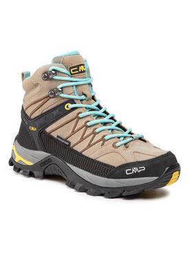 CMP CMP Chaussures de trekking Rigel Mid Wmn Trekking Shoe Wp 3Q12946 Beige