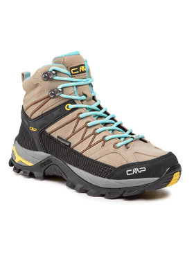 CMP CMP Trekkingi Rigel Mid Wmn Trekking Shoe Wp 3Q12946 Beżowy