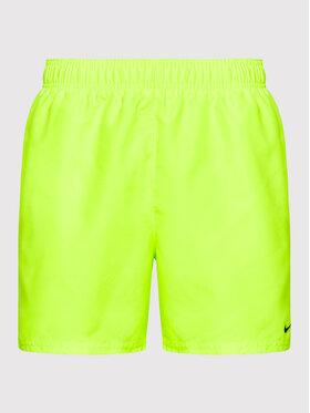 Nike Nike Plavecké šortky Essential NESSA560 Žlutá Regular Fit
