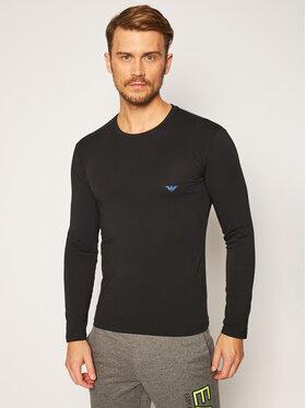 Emporio Armani Underwear Emporio Armani Underwear Marškinėliai ilgomis rankovėmis 111023 0A725 00020 Juoda Slim Fit