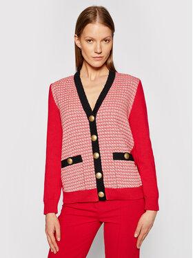 Pinko Pinko Cardigan Serio Roșu Regular Fit